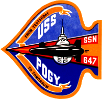 SCI-EX 96 – USS POGY Santa Claus and DeWayne at the North Pole